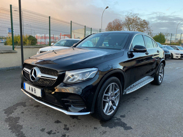 4 X 4  MERCEDES GLC COUPE